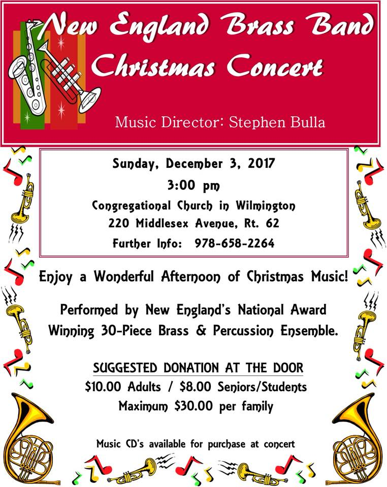 New England Brass Band Christmas Concert