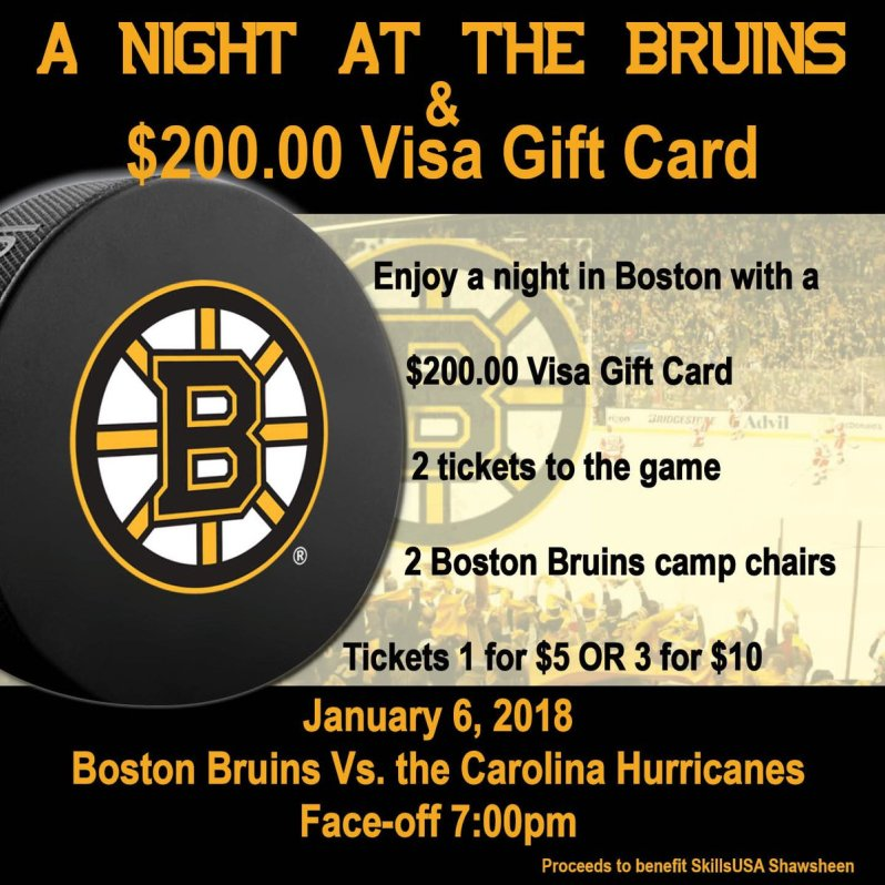 Night At The Bruins