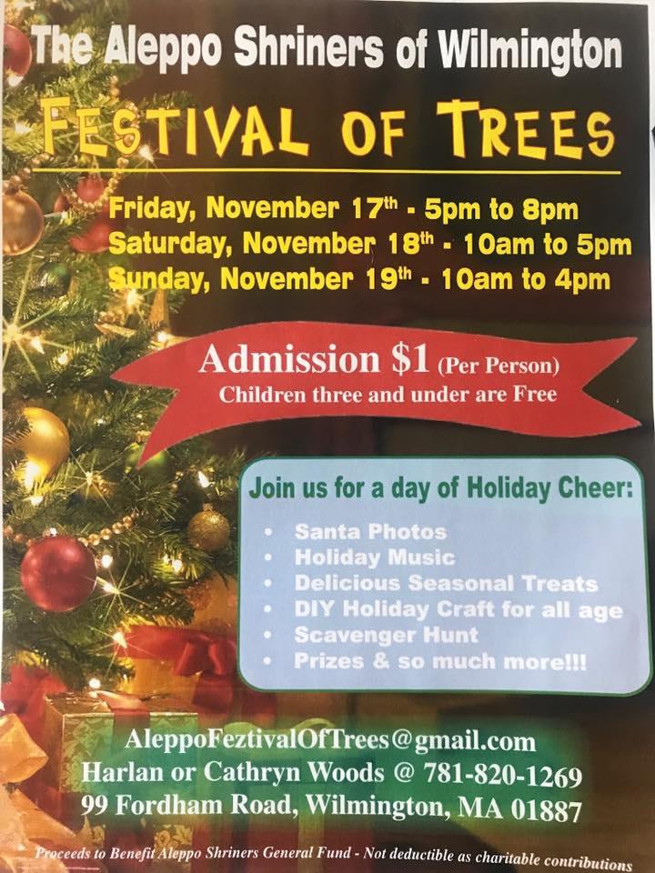 Shriners Festival of Trees
