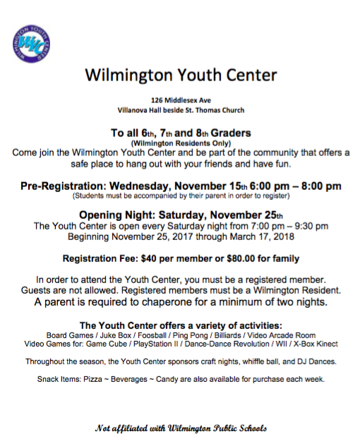 Wilmington Youth Center