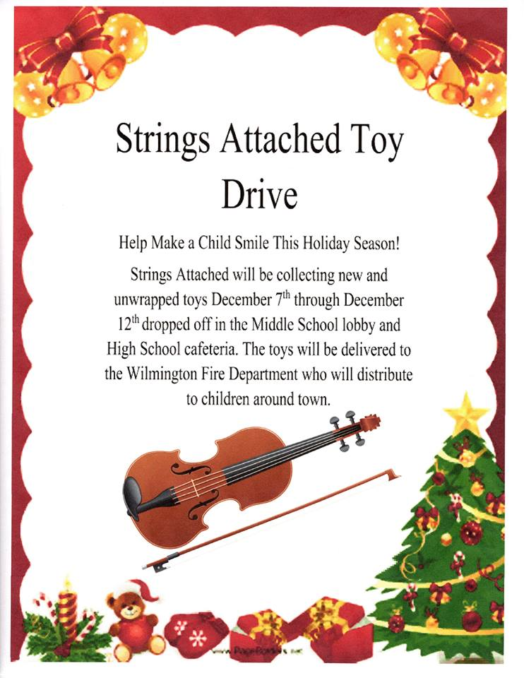 Strings Attached Toy Drive