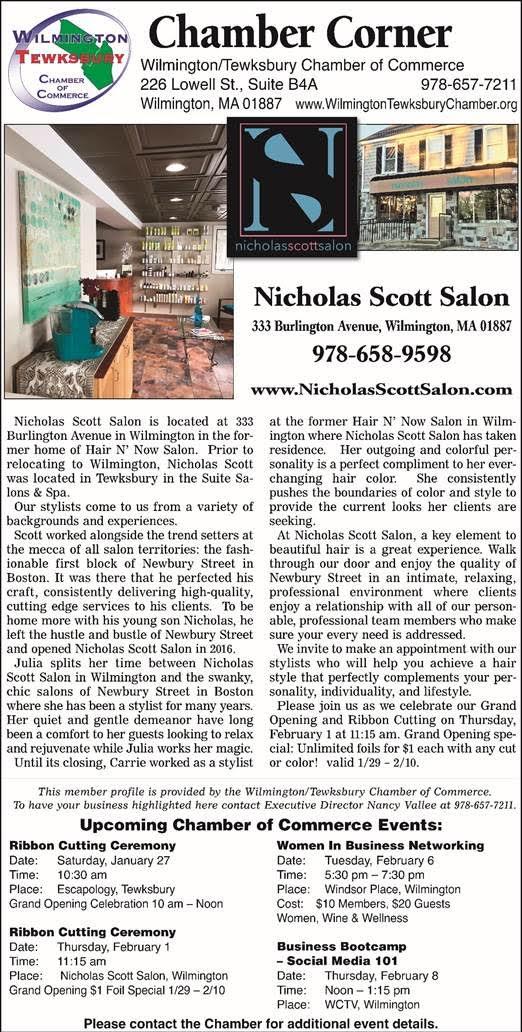 Nicholas Scott Salon