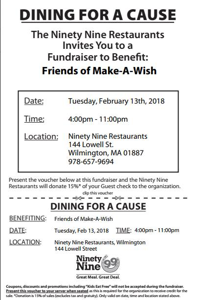 Friends of Make A Wish Fundraiser