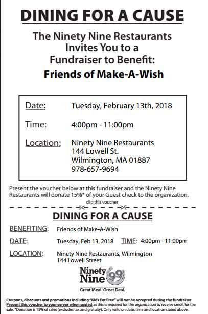Friends of Make A Wish Fundraiser