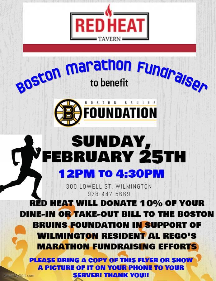 Red Heat Boston Marathon Fundraiser
