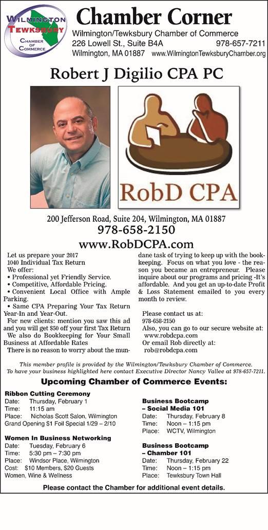 Robert J Digilio CPA PC
