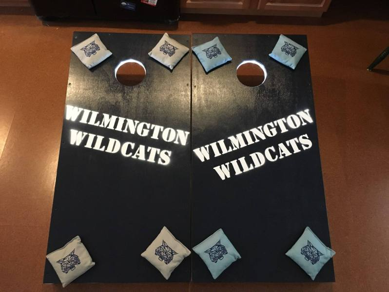 Wildcat Cornhole Board Set