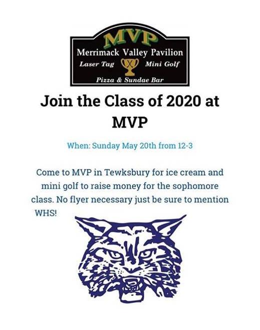 Class of 2020 MVP Fundraiser