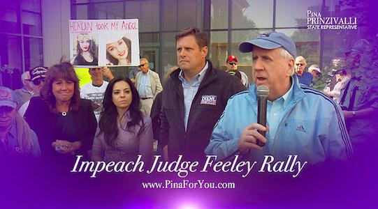 Impeach Judge Feeley Rally