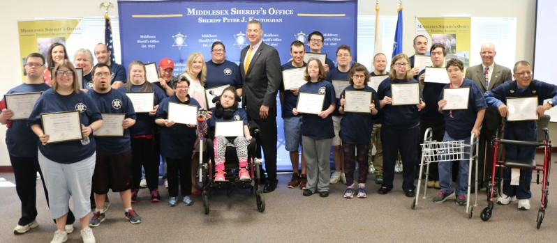 Sheriff Koutoujian celebrates third Special Citizens Academy graduation