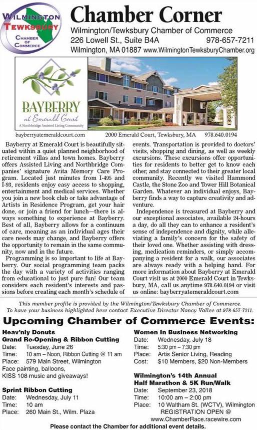 Chamber Corner Bayberry