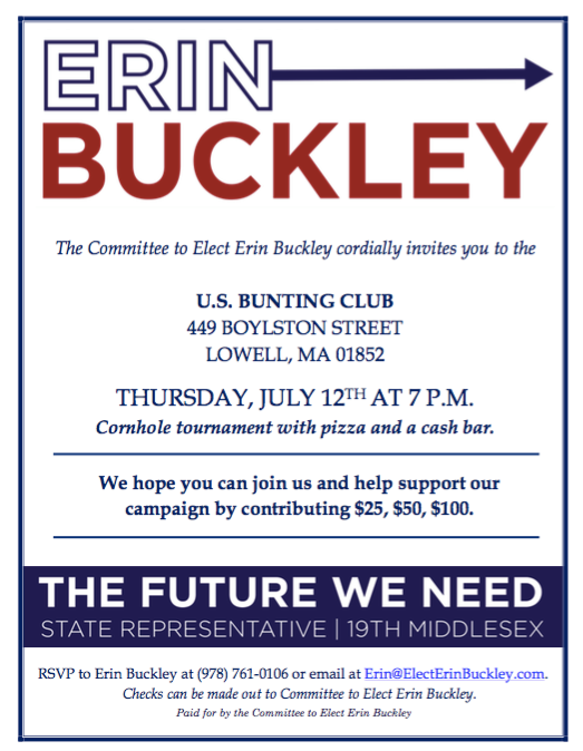 Erin Buckley Event
