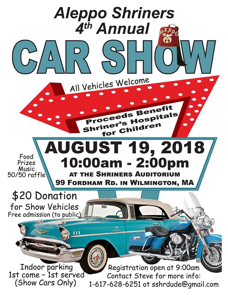 Shriners Car Show