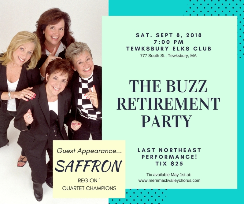 Buzz Retirement Party