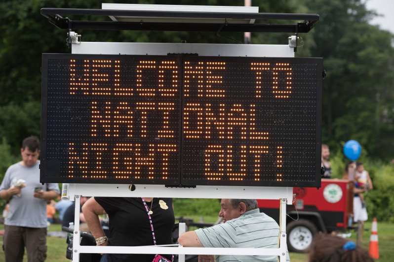 National Night Out Sign_