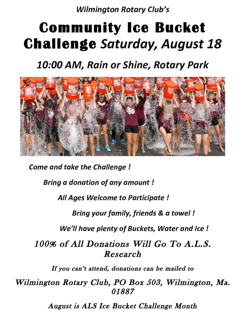 Rotary Club Ice Bucket Challenge