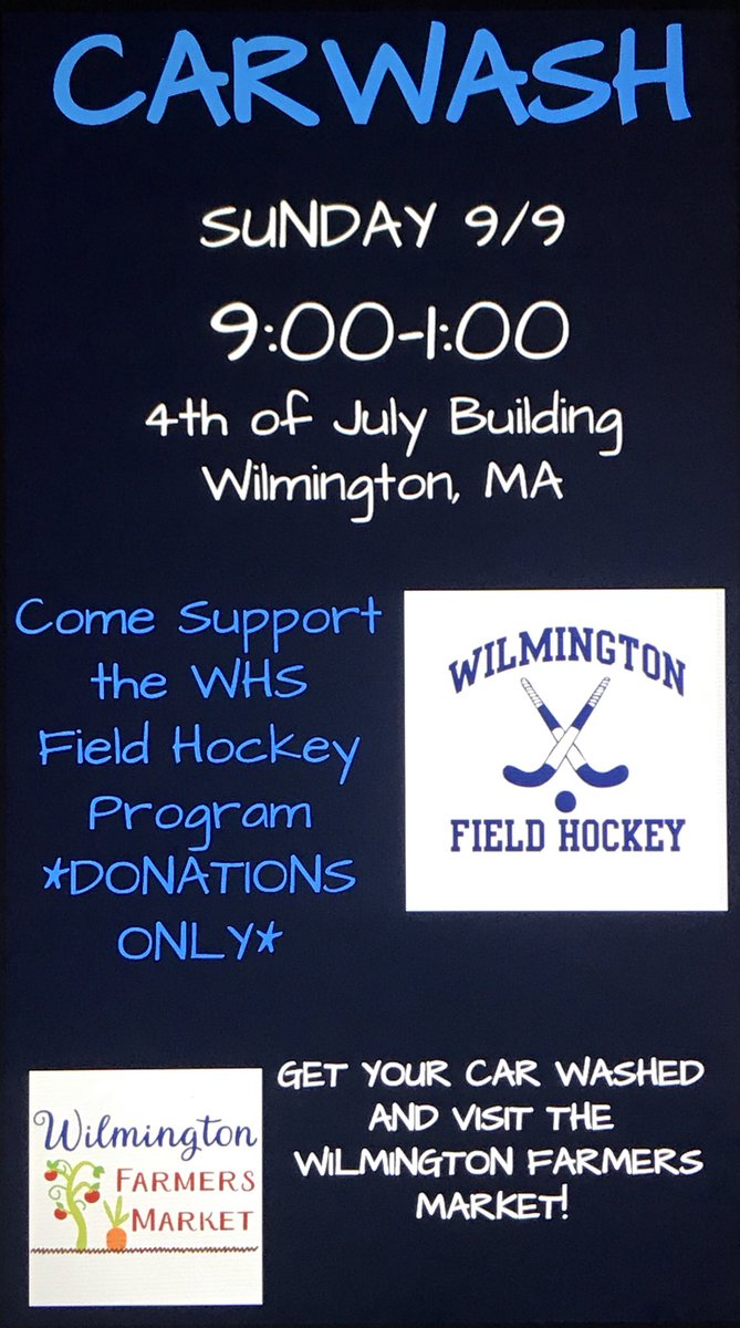 Field Hockey Car Wash