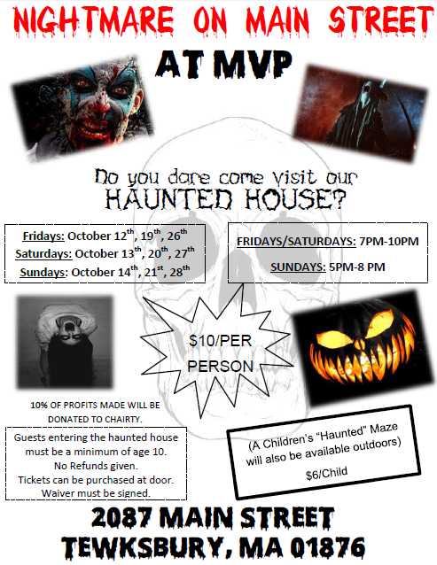 MVP Haunted House