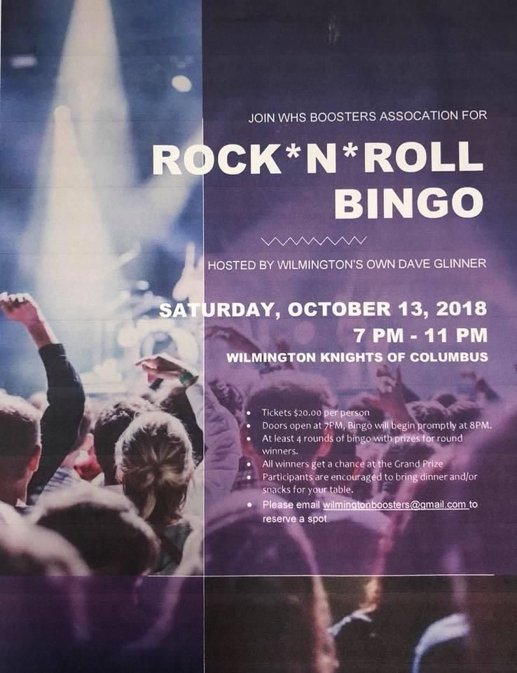 Rock 'N Roll Bingo