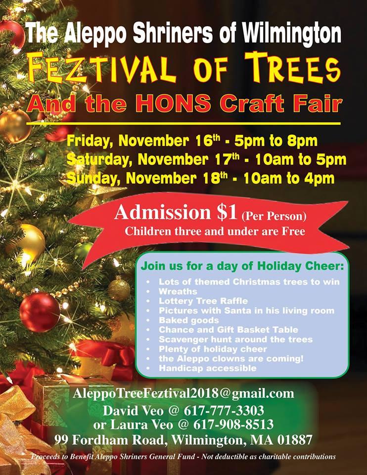 Shriners Festival of Trees Feztival