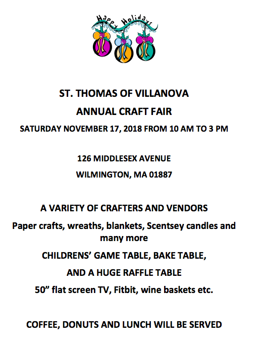 St. Thomas Craft Fair