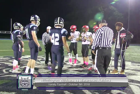Video Watch Whs Football Defeat Watertown In Rout Improve To 3 2