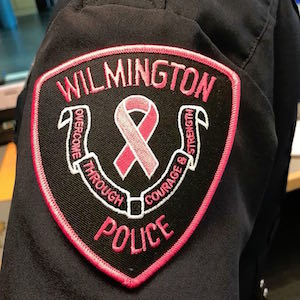 Wilmington Police Pink Patch