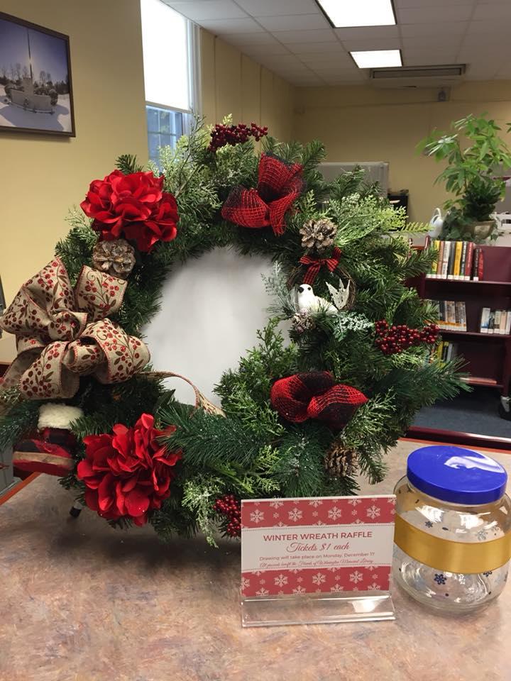Friends Library Winter Wreath Raffle