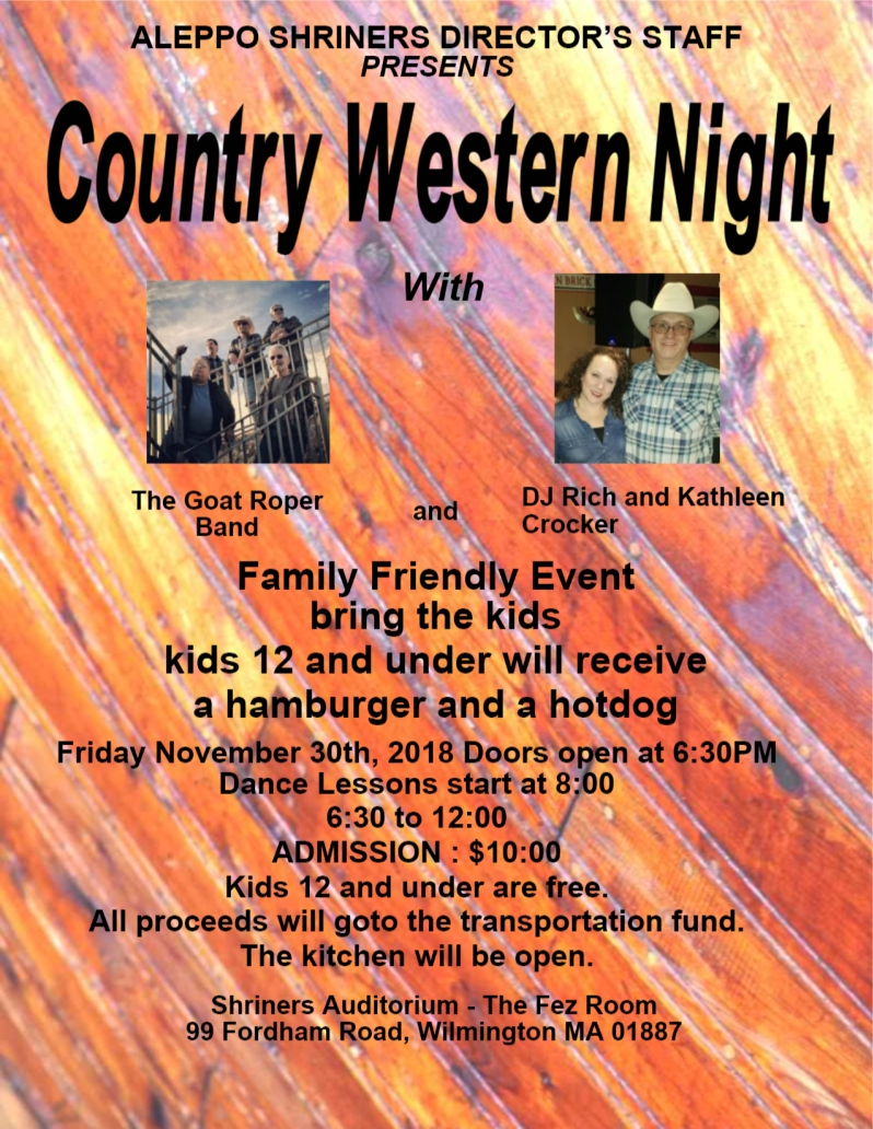 Country night Nov2018