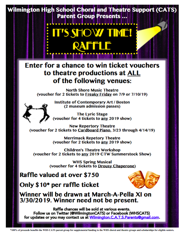 WHS CATS Show Time Raffle