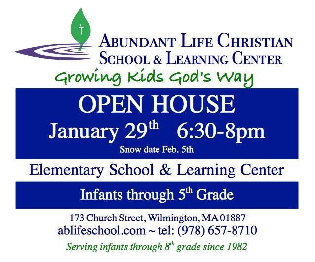 Abundant Life Open House