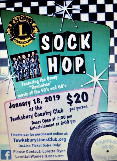 Lions Club Sock Hop