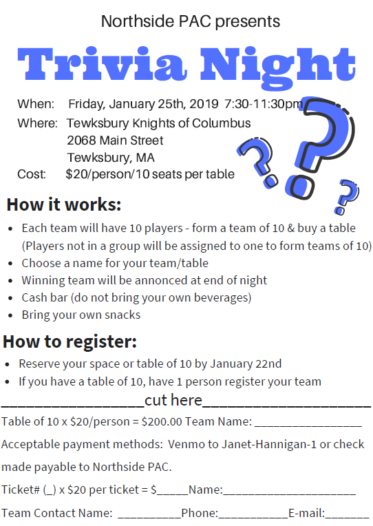 northside pac trivia night