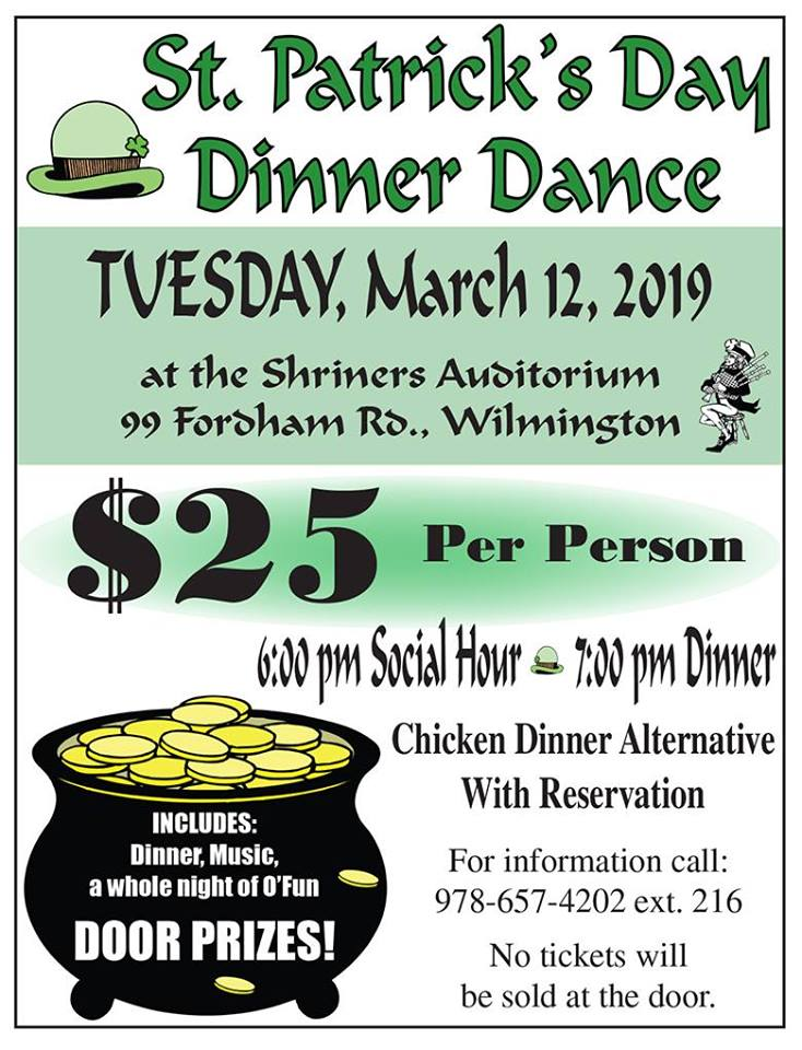 St. Patrick's Day Dinner Dance