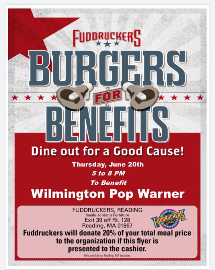 Wilmington Pop Warners Fudrucckers