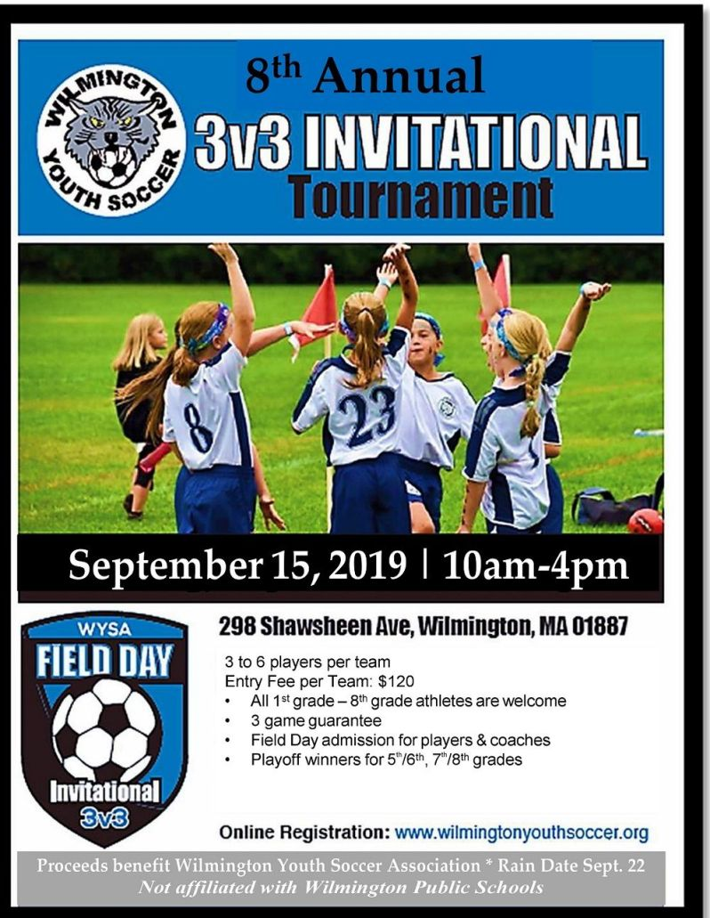 Wilmington Youth Soccer Field Day