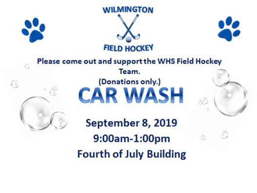 Field Hockey Car Wash