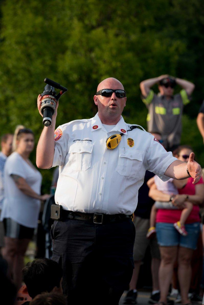 Wilmington, MA Fire Chief Bill Cavanaugh