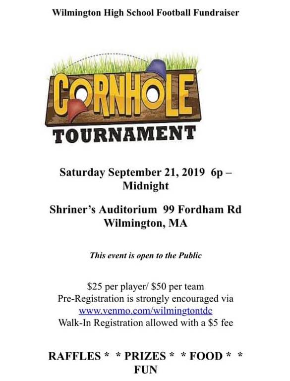 WHS Football Cornhole Tournament