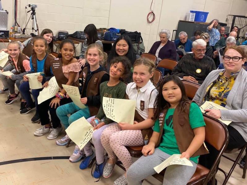 Girl Scouts Community Garden