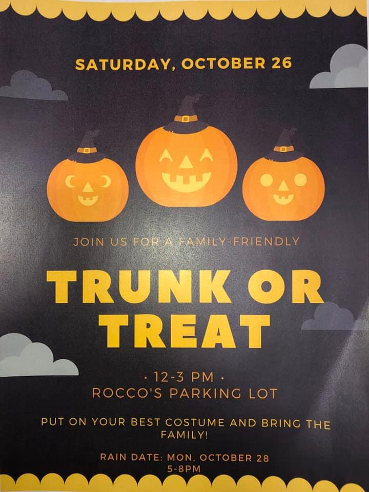 Rocco's Trunk or Treat