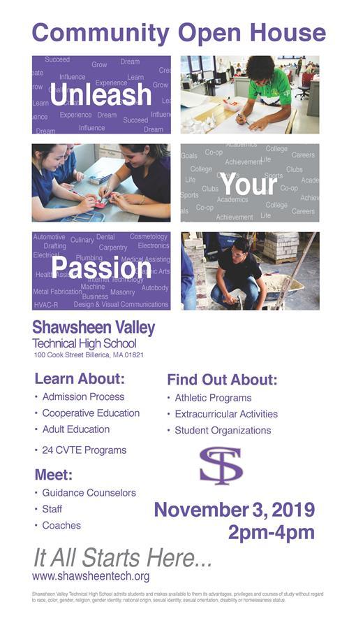 Shawsheen Tech Open House