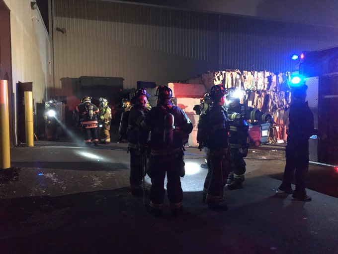 Wilmington Fire Andover Street