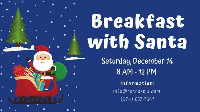 Breakfast with Santa Rocco's
