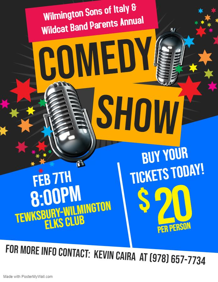 Sons Of Italy Comedy Night