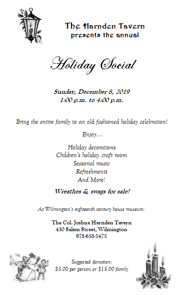 Town Museum Holiday Social