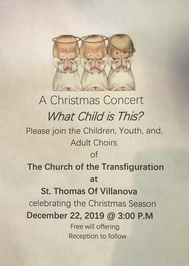 St. Thomas Christmas Concert