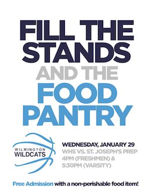 Basketball Food Pantry Fundraiser