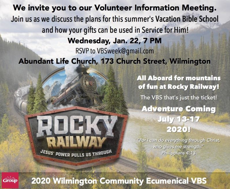 Volunteer Information Meeting
