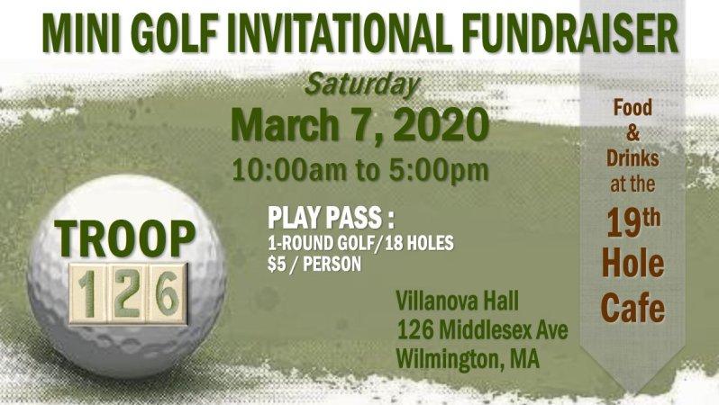 Mini Golf Fundraiser